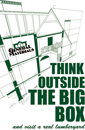 Think outside of the big box